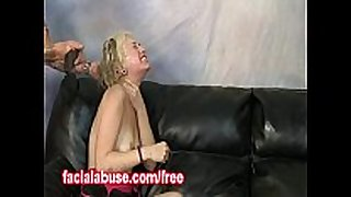 Spanked ho takes a dong unfathomable in her face gap