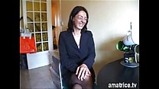 Mature screwed in nylons