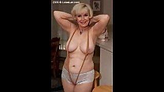 Hot granny widening