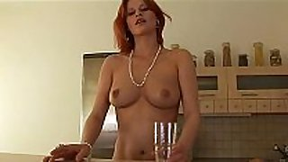 Lactating red head