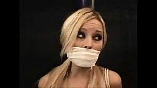 Blond in servitude
