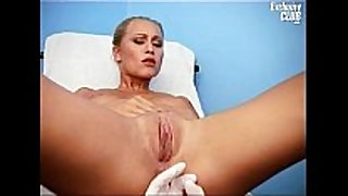 Valerie love tunnel gaping by old gyno doctor with sp...