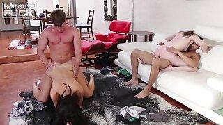 Very nice foursome XXX video with Rachel Ford