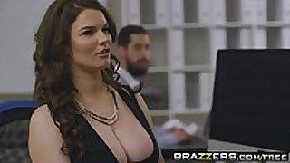 Brazzers - big pointer sisters at work - (tasha holz, dann...