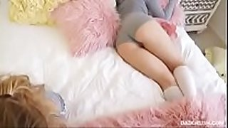 Cute ever sleeping babysitter receive well drilled a...