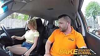 Fake driving school big pointer sisters blonde acquires drilled...