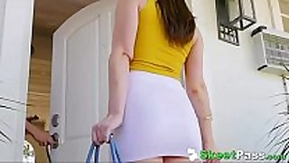 Hunky boss mr.mclane copulates hot legal age teenager babysitter ...