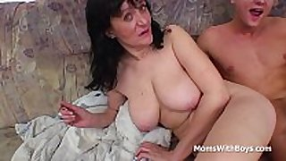 Busty mother fucking son's wang - full movie scene scene scene scene scene