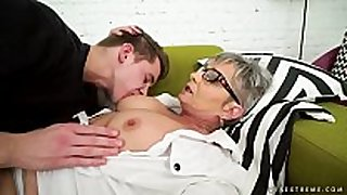 Lusty grandma vs young big weenie - jessye, oliver