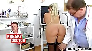 Gyno-chair exam of diminutive lalin non-professional Married bitch ferrara gomez