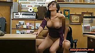 Busty cheating black shlong sluts acquires screwed by pawn keeper